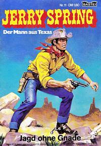 Cover Thumbnail for Jerry Spring (Bastei Verlag, 1972 series) #11