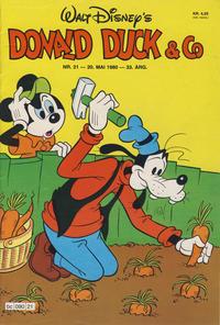 Cover Thumbnail for Donald Duck & Co (Hjemmet / Egmont, 1948 series) #21/1980