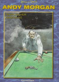 Cover Thumbnail for Andy Morgan (Kult Editionen, 2010 series) #12 - Teuflischer Anschlag