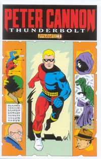 "Cover Thumbnail for Peter Cannon: Thunderbolt (Dynamite Entertainment, 2012 series) #1 [""Classic Retro"" Retailer Incentive Cover - Pete Morisi]"