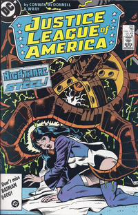 Cover Thumbnail for Justice League of America (DC, 1960 series) #255 [Direct Sales]