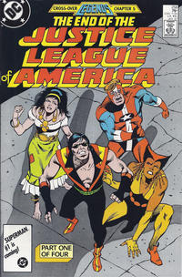 Cover Thumbnail for Justice League of America (DC, 1960 series) #258 [Direct Sales]