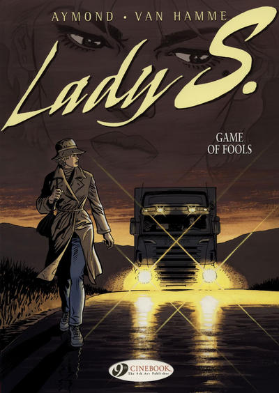 Cover for Lady S. (Cinebook, 2008 series) #3 - Game of Fools