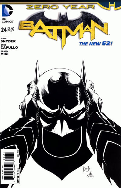 Cover for Batman (DC, 2011 series) #24 [Combo-Pack]