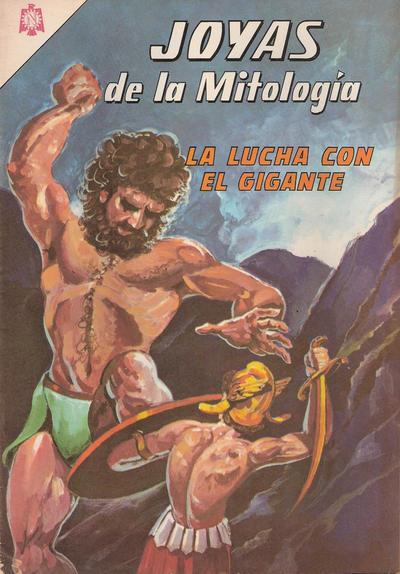 Cover for Joyas de la Mitología (Editorial Novaro, 1962 series) #26
