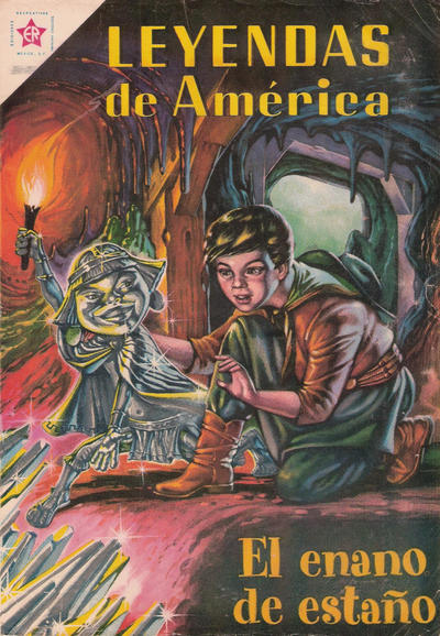 Cover for Leyendas de América (Editorial Novaro, 1956 series) #51