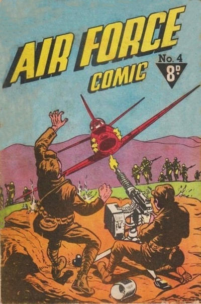 Cover for Air Force Comic (Cleland, 1950 ? series) #4