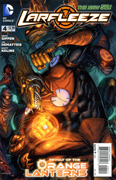 Cover for Larfleeze (DC, 2013 series) #4