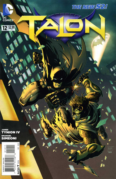 Cover for Talon (DC, 2012 series) #12