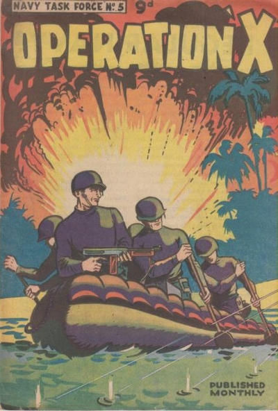 Cover for Navy Task Force (Frew Publications, 1955 ? series) #5