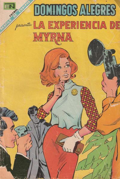 Cover for Domingos Alegres (Editorial Novaro, 1954 series) #751