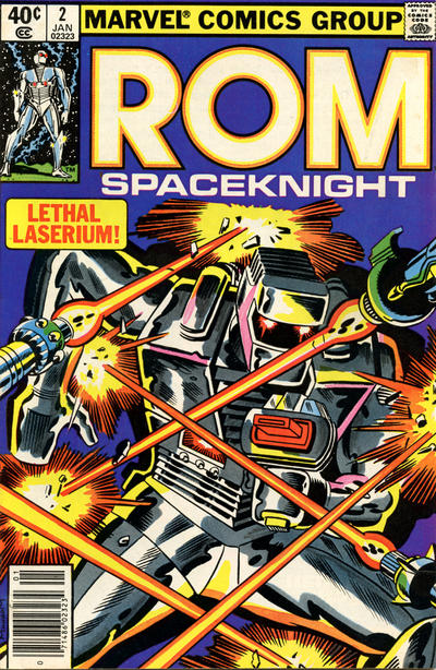 Cover for ROM (Marvel, 1979 series) #2 [British price variant]