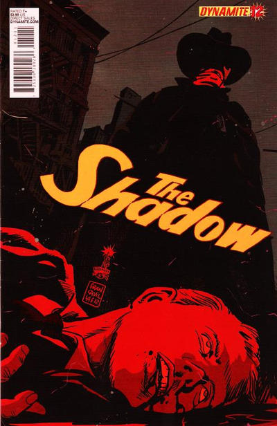 Cover for The Shadow (Dynamite Entertainment, 2012 series) #12 [Cover D]