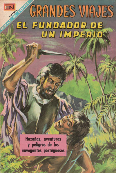 Cover for Grandes Viajes (Editorial Novaro, 1963 series) #69