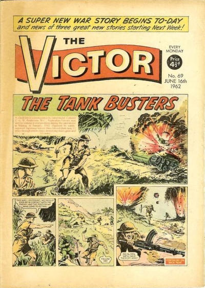 Cover for The Victor (D.C. Thomson, 1961 series) #69