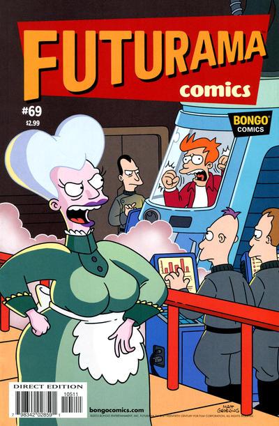 Cover for Bongo Comics Presents Futurama Comics (Bongo, 2000 series) #69