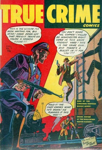 Cover for True Crime Comics (Alval Publishers, 1948 series) #7