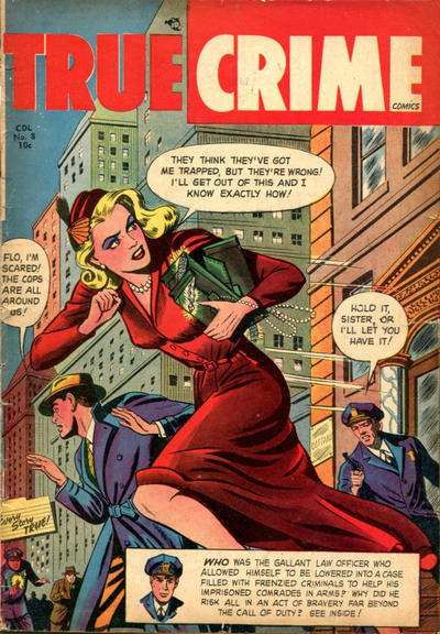 Cover for True Crime Comics (Alval Publishers, 1948 series) #v2#8