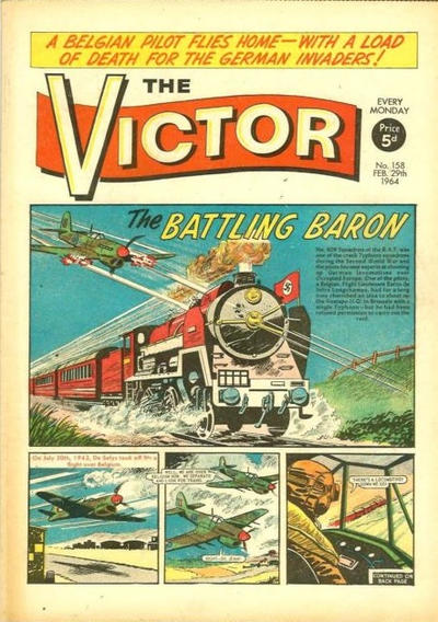Cover for The Victor (D.C. Thomson, 1961 series) #158
