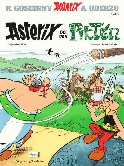 Cover for Asterix (Egmont Ehapa, 1968 series) #35 - Asterix bei den Pikten