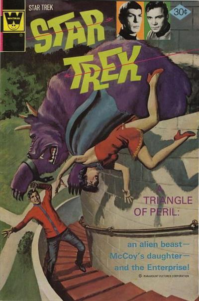 Cover for Star Trek (Western, 1967 series) #40 [Gold Key Variant]