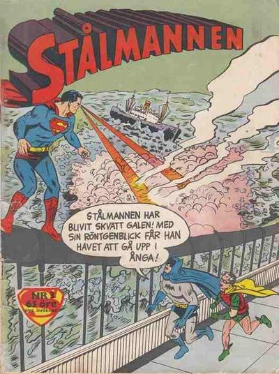 Cover for Stålmannen (Centerförlaget, 1949 series) #3/1961