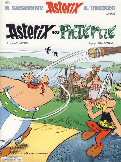 Cover for Asterix (Hjemmet / Egmont, 1969 series) #35 - Asterix hos Pikterne