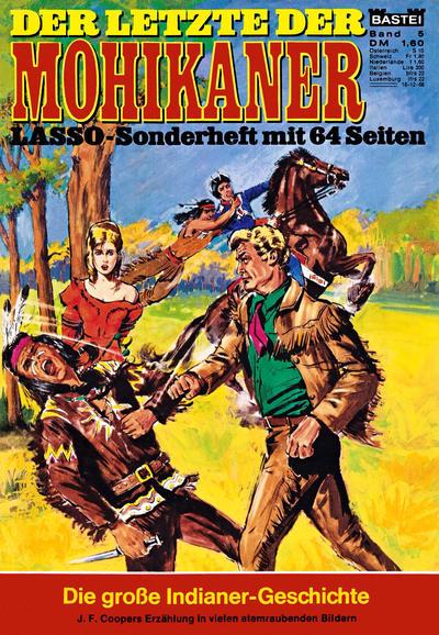 Cover for Lasso-Sonderheft (Bastei Verlag, 1968 series) #5