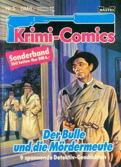 Cover for Krimi-Comics (Bastei Verlag, 1988 series) #5