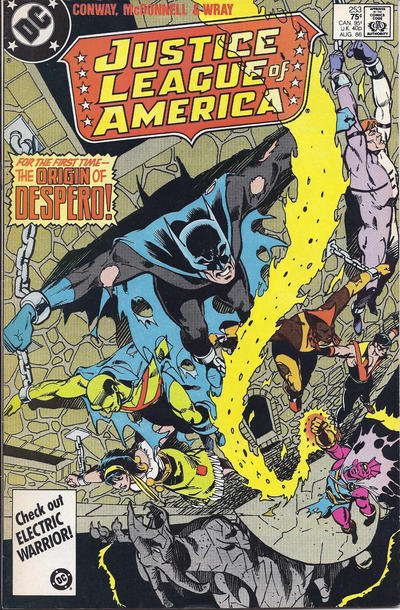 Cover for Justice League of America (DC, 1960 series) #253