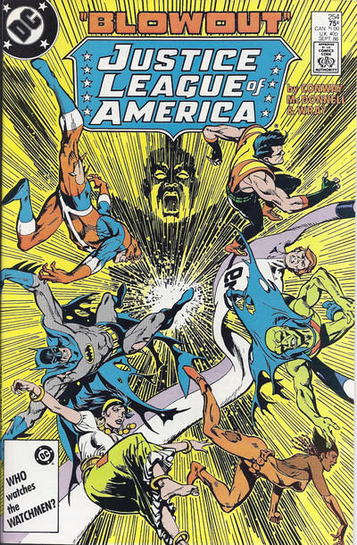 Cover for Justice League of America (DC, 1960 series) #254