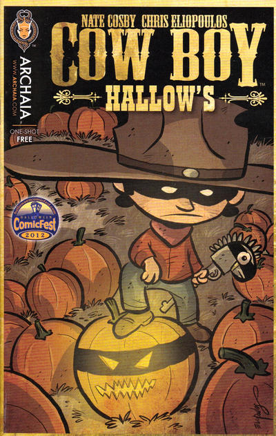 Cover for Cow Boy (Archaia Studios Press, 2012 series)