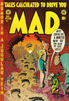 Cover for Mad (EC, 1952 series) #8