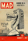 Cover for Mad (EC, 1952 series) #11