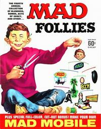 Cover Thumbnail for MAD Follies (EC, 1963 series) #4 [60¢]