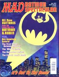 Cover Thumbnail for Mad Batman Spectacular (EC, 1997 series)