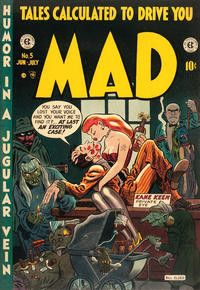 Cover Thumbnail for Mad (EC, 1952 series) #5