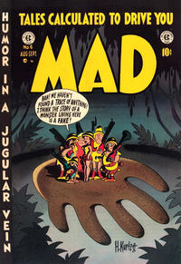 Cover Thumbnail for Mad (EC, 1952 series) #6