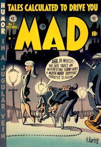 Cover Thumbnail for MAD (EC, 1952 series) #7