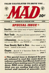 Cover Thumbnail for Mad (EC, 1952 series) #12