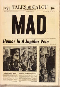 Cover Thumbnail for MAD (EC, 1952 series) #16