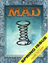 Cover Thumbnail for MAD (EC, 1952 series) #28 [Useful Income Tax Guide]