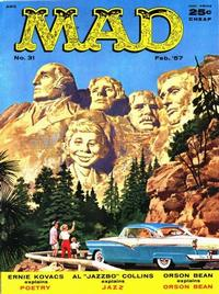 Cover Thumbnail for MAD (EC, 1952 series) #31