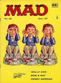 Cover Thumbnail for MAD (EC, 1952 series) #36