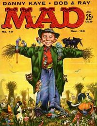 Cover Thumbnail for Mad (EC, 1952 series) #43