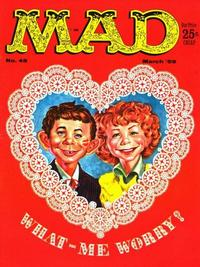 Cover Thumbnail for MAD (EC, 1952 series) #45