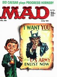 Cover Thumbnail for MAD (EC, 1952 series) #48