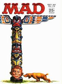 Cover Thumbnail for Mad (EC, 1952 series) #74