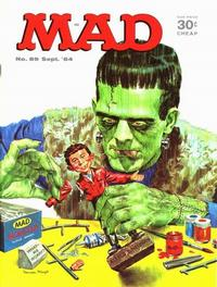Cover Thumbnail for MAD (EC, 1952 series) #89