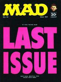 Cover Thumbnail for MAD (EC, 1952 series) #91
